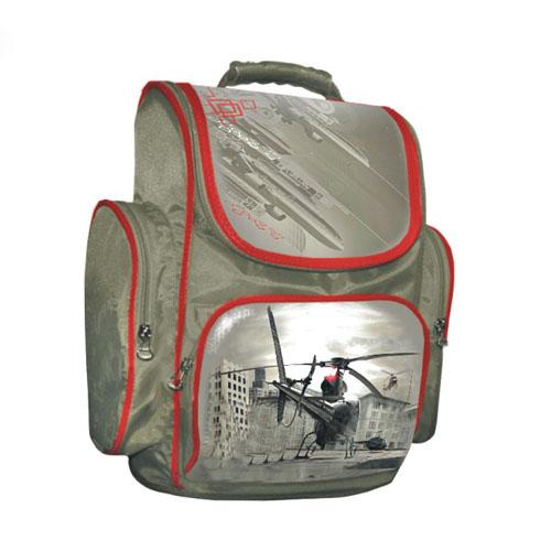 Печать на рюкзаке детском (крой) в 3 цвета.